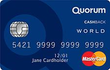 quorum cashback credit card
