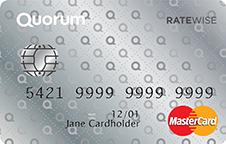 quorum ratewise credit card