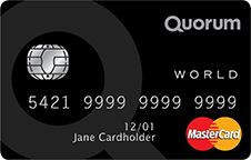 quorum world credit card