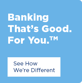 Bnaking That's Good. For You. Click here to see how we're different.