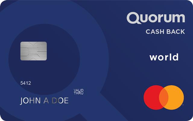 Cash Back World Mastercard